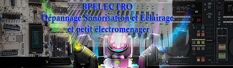 bpelectro depannage petit electromenager oise et sonorisation et clairage. Black Bedroom Furniture Sets. Home Design Ideas