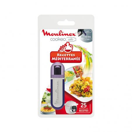 Clé USB Cookéo recettes méditerranée ref : XA600011