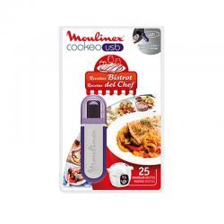 Clé USB Cookéo 25 recettes BISTROT Moulinex  XA600411