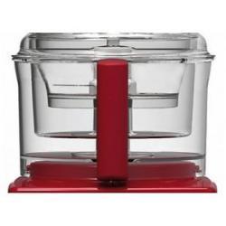 Bol ou cuve poignee rouge robot Magimix Cuisine Système 5200 / 5200 XL ref : 17433