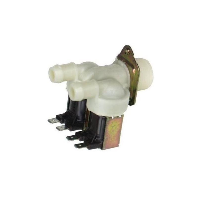 Electrovanne 2 voies 180° 10 mm de lave vaisselle Brandt Vedette 31X1358