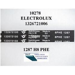 Courroie lave linge 1287H8 ELECTROLUX REF 124021140/7 OU 132672100/6