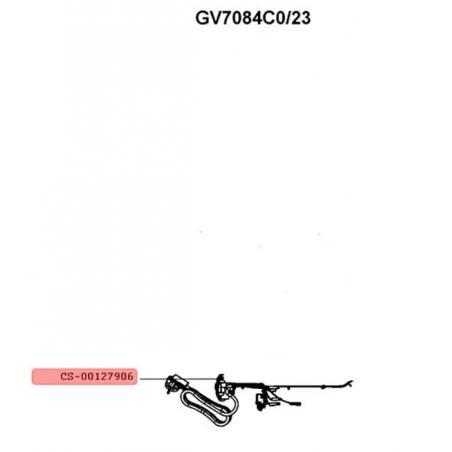 Boitier avant avec carte electronique pour centrale vapeur Calor CS-00127906