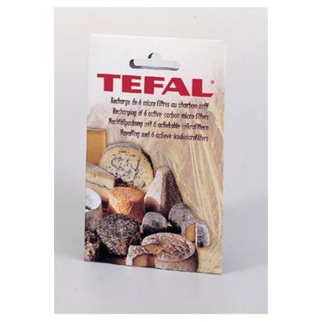 Filtres charbons boite / cave à fromage Tefal x 6 - 91822120