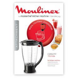 Bol Blender robot Masterchef Gourmet Moulinex XF634BB1