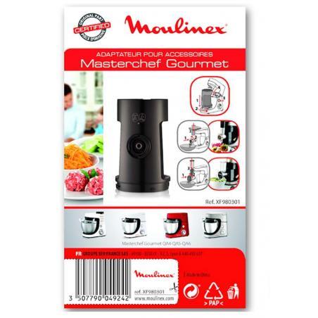 Adaptateur reducteur hachoir à viande robot Masterchef Gourmet Moulinex XF980301