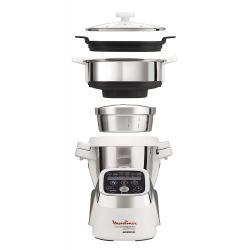 Cuiseur Vapeur pour Robot Cuisine Companion Moulinex XF384B10