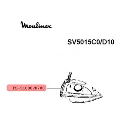 Fer à vapeur complet avec cordon Moulinex FS-9100020780