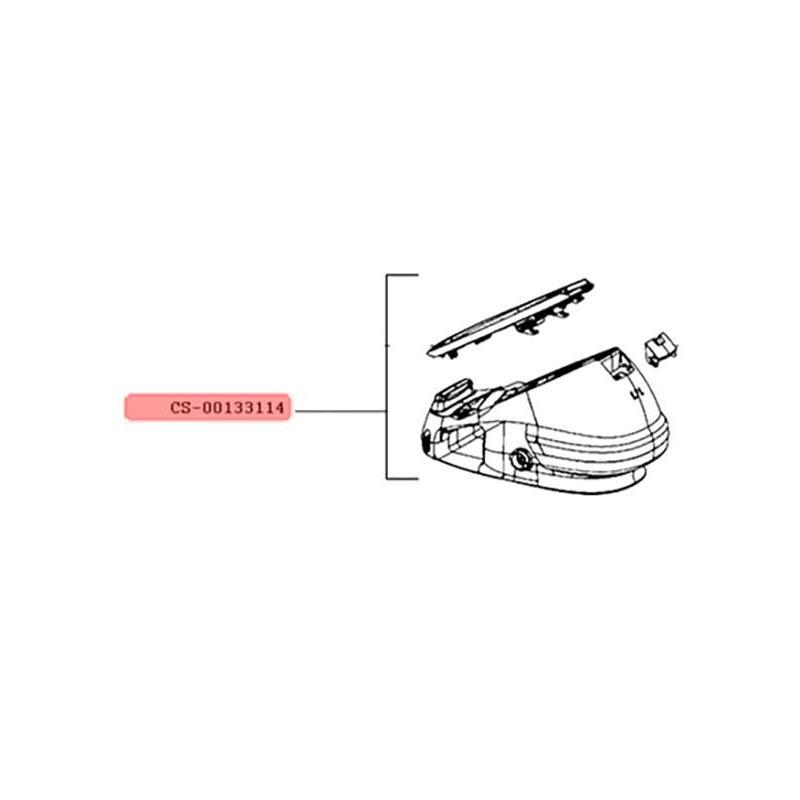 Boitier pour Générateur Vapeur Express Calor CS-00133114