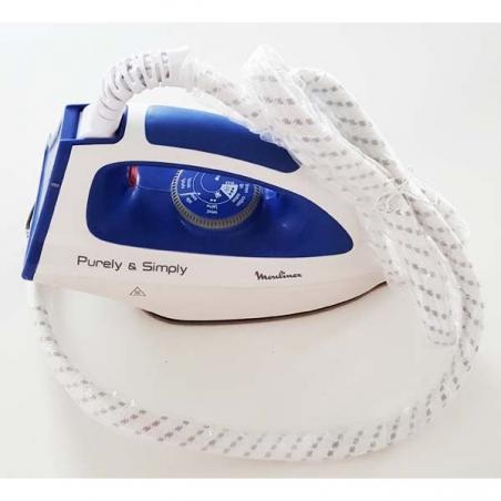 Fer a vapeur complet + cordon centrale vapeur purely et simply moulinex FS-9100018812
