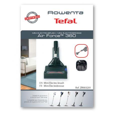 Mini electrobrosse aspirateur Rowenta Air Force 360 ZR903201