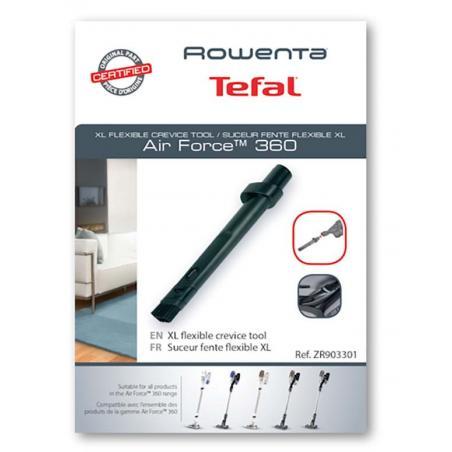 Suceur fente flexible XL aspirateur Rowenta Air Force 360 ZR903301