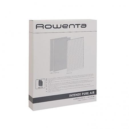 Lot de 2 filtres charbon et un filtre Hepa Rowenta XD6040F0