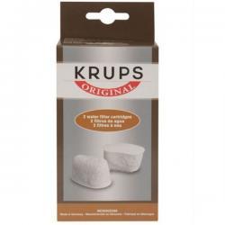 kit de 2 filtres anti calcaire cafetiere krups moulinex F4720057