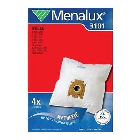 Menalux 3101 Duraflow 4 sacs d'aspirateur 9001961417