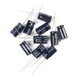 Condensateur électrolytique 1uF 50VDC