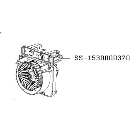 Moteur avec ventilateur friteuse Seb Actifry original snack SS-1530000370