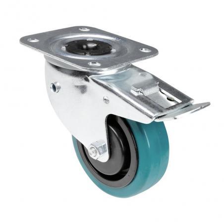 Roulette pivotante avec frein Tente 37038