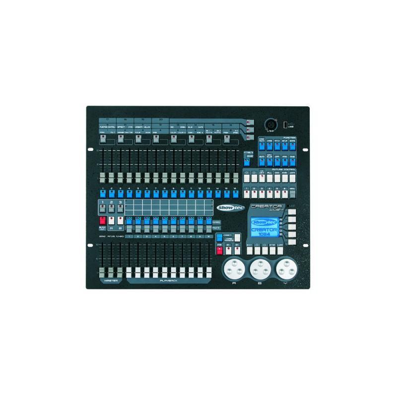 Console de lumières mobiles Showtec Creator 1024