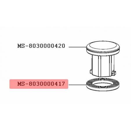 Joint arbre de transmission robot Companion Moulinex MS-8030000417