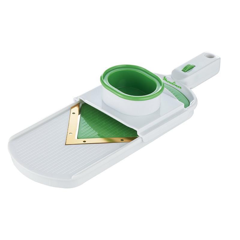 Mandoline K0870314 blanc et vert MOULINEX FRESH KITCHEN