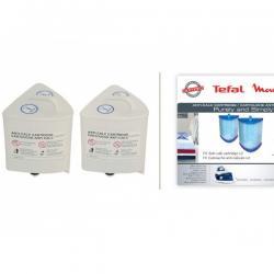 Cartouches anticalcaire de centrale vapeur Moulinex - Tefal - SV50  XD9030E0 / FS-9100017944