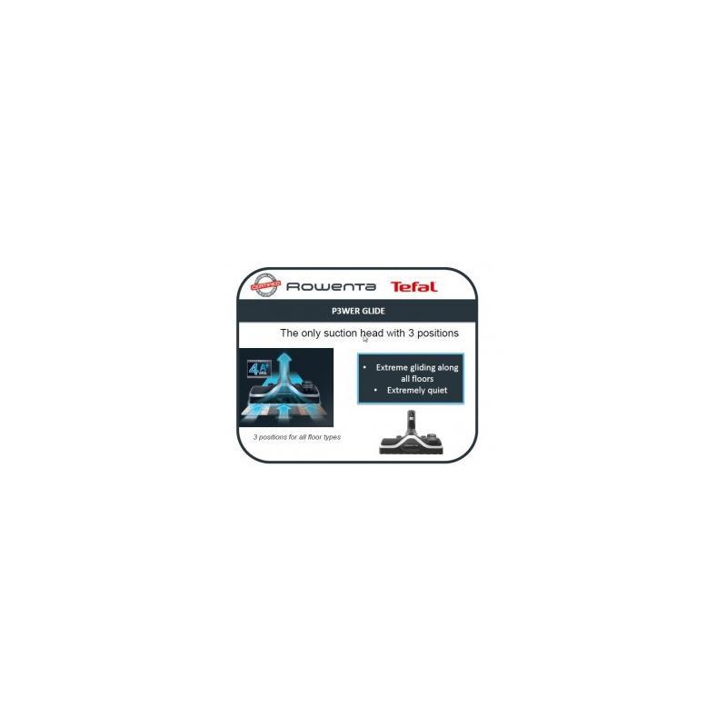 Suceur brosse amovible aspirateur Rowenta ZR903801