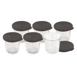 Lot de 6 verrines pour cookeo Moulinex XA606000