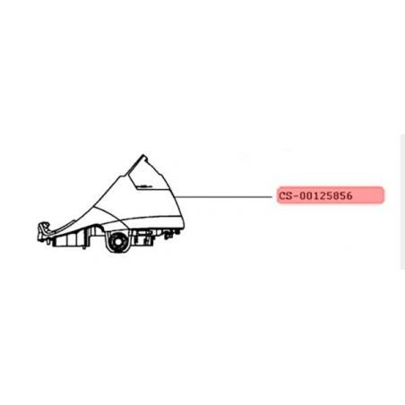 Boitier complet centrale vapeur Calor CS-00125856
