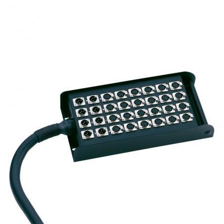 Câble Multipaire avec Boîtier de Scène 32/8 30 m Adam Hall Cables K 40 C 30