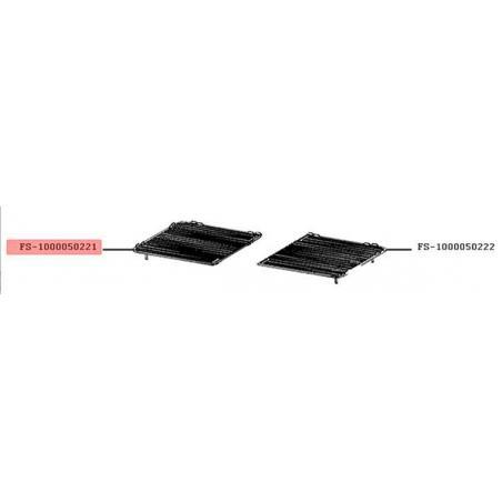 Plaque cote gauche grill-viande Lono Master Grill WMF FS-1000050221