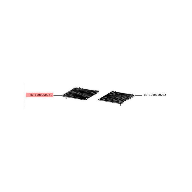 Plaque cote gauche grill-viande Lono Master Grill FS-1000050221
