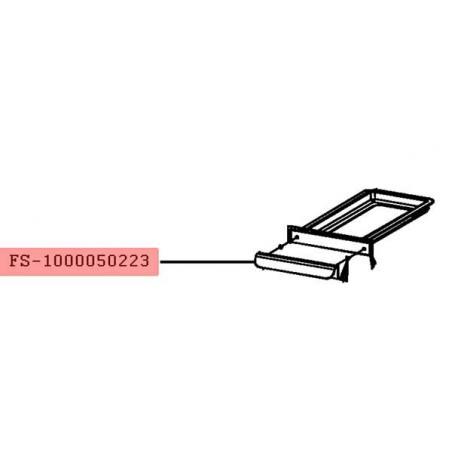 Bac recuperateur de graisse grill-viande Lono Master Grill WMF FS-1000050223