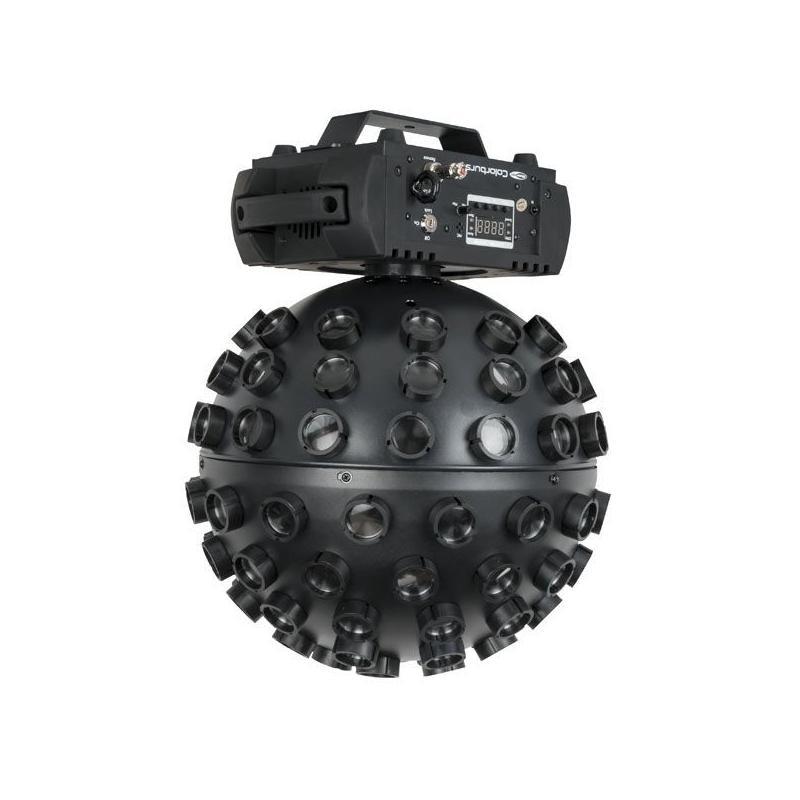 Showtec Colorburst boule à facettes RGBW 43163