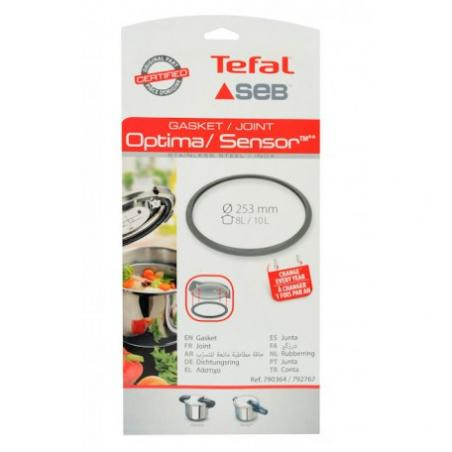 Joint cocotte Seb Optima / sensor  8/10L  diam 253 mm 790364