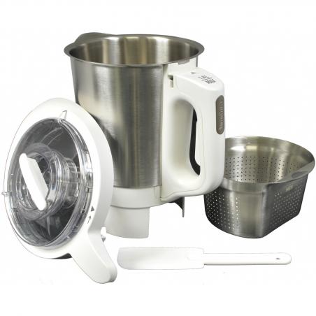 Couvercle blanc soup & co LM9 Moulinex MS-0A08303