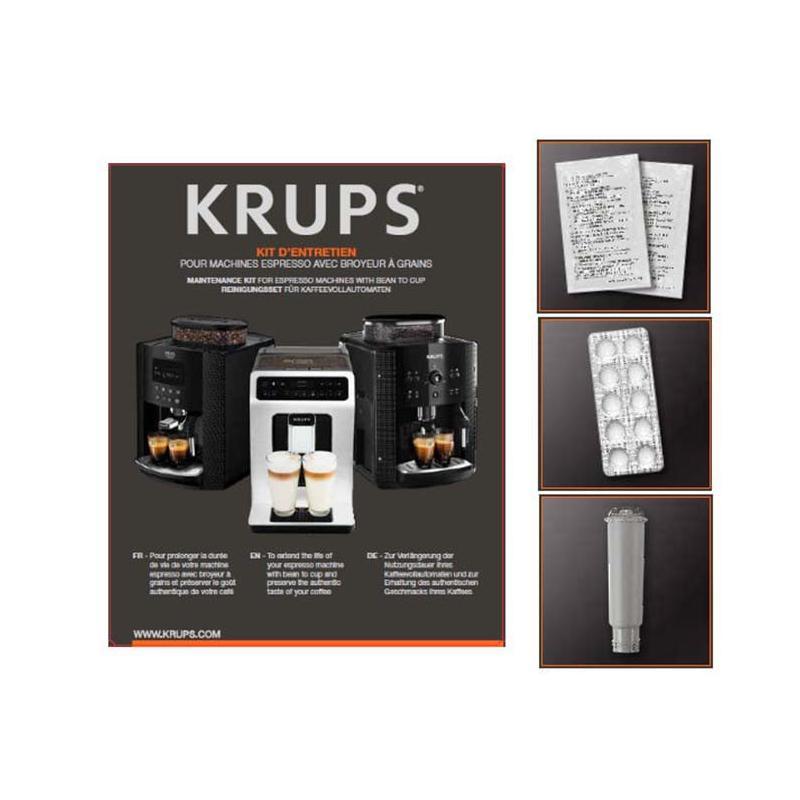 kit d 39 entretien machine espresso krups avec broyeur. Black Bedroom Furniture Sets. Home Design Ideas