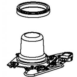 Resistance avec joint pour cuiseur vapeur steam up Moulinex SS-1530000916
