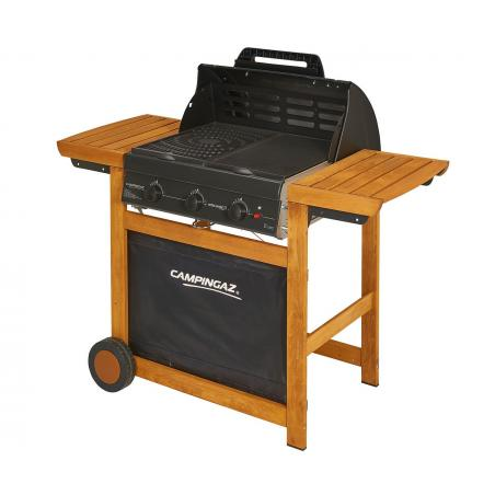 Plaque cuisson plancha epais email  serie 3 WOODY L-CL L-LS barbecue campingaz 5010001638
