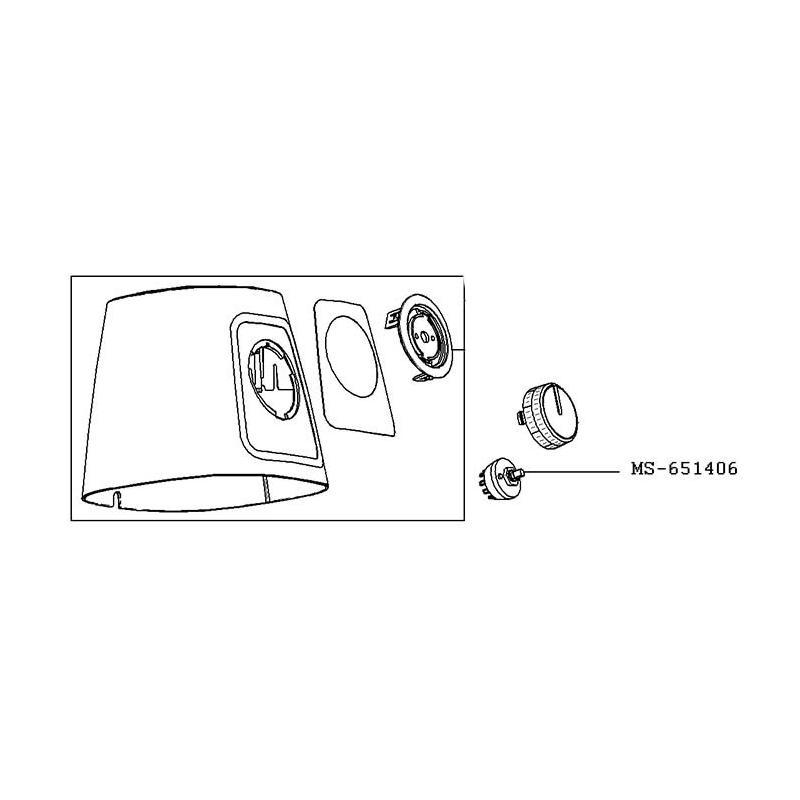 Interrupteur pour blender BLENDFORCE Moulinex MS-651406