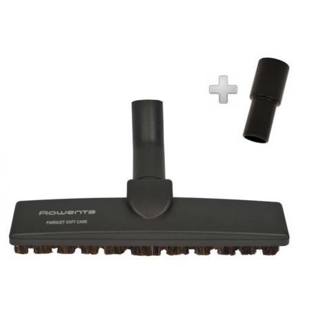 Brosse parquet, Sols durs avec adaptateur 32mm, 35mm Rowenta ZR900401