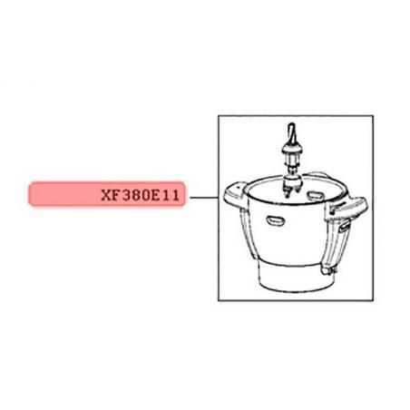 Bol inox complet pour robot companion moulinex XF380E11 ou XF382E38