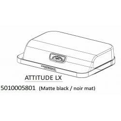 Couvercle noir mat avec poignée et thermometre Campingaz Attitude 5010005801