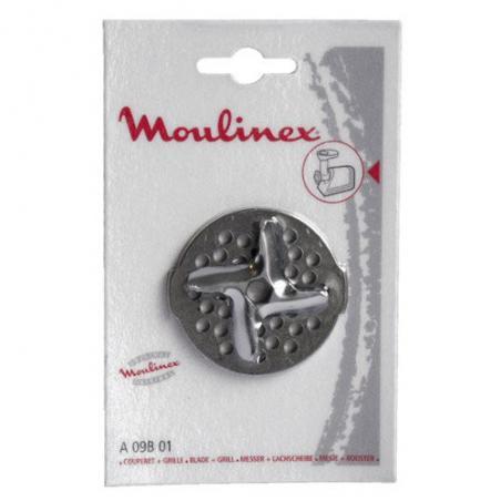 Couperet avec grille de hachoir Moulinex A09B01
