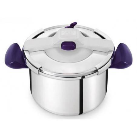 Poignée de cuve fixe bleu violet autocuiseur Seb Clipso Essential SS-981383