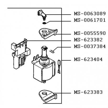 Pompe pour expresso Nespresso Citiz Krups ref : MS-623404