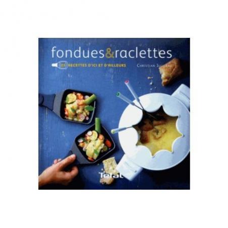 Livre de recettes Fondues et raclettes ref : XR520011